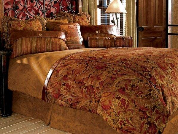 Rustic Bedding Adds Country Charm Your Home