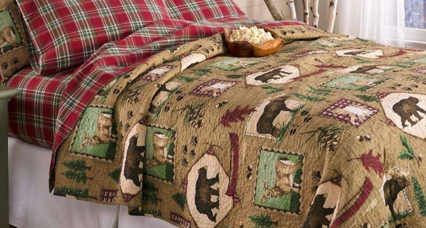 Rustic Bedding Cabin Ease Style