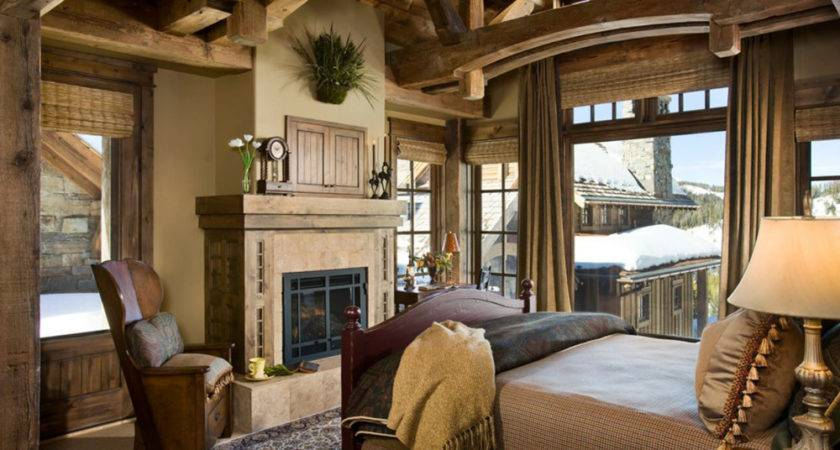Rustic Bedrooms Design Ideas Country Home Sweet