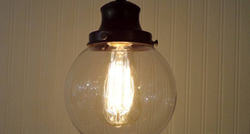 Rustic Bubble Glass Pendant Light Buzzardfilm