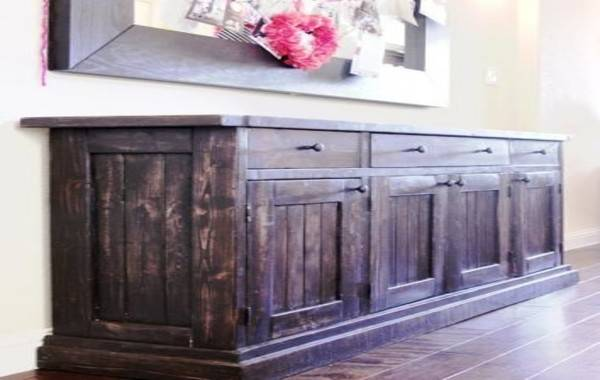 Rustic Buffet Table Tables Southwestern