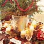 Rustic Christmas Table Decorations Ideas Hgtv