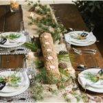Rustic Christmas Table Setting Have Check Out