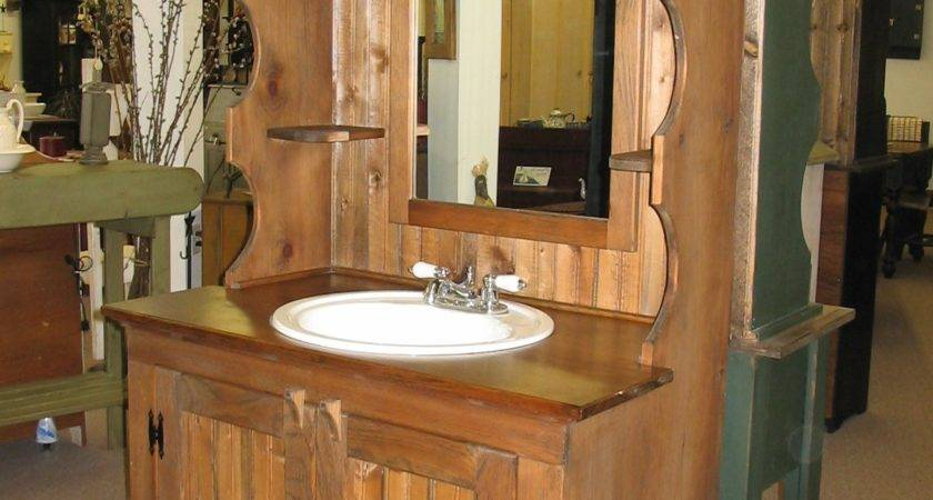 Rustic Country Bathrooms