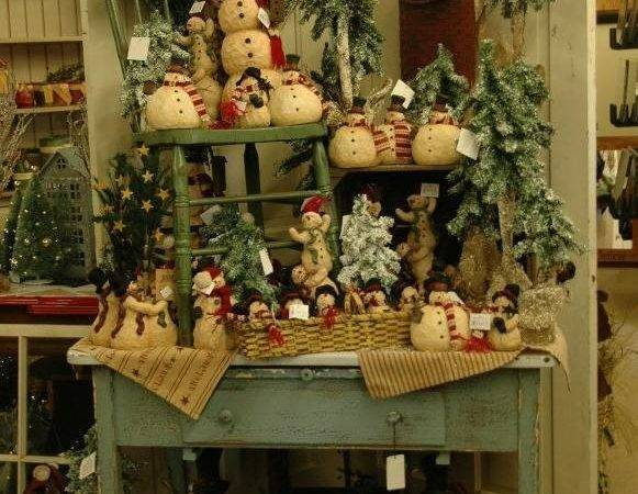 Rustic Country Christmas Decor