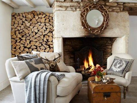 Rustic Country Living Room Housetohome