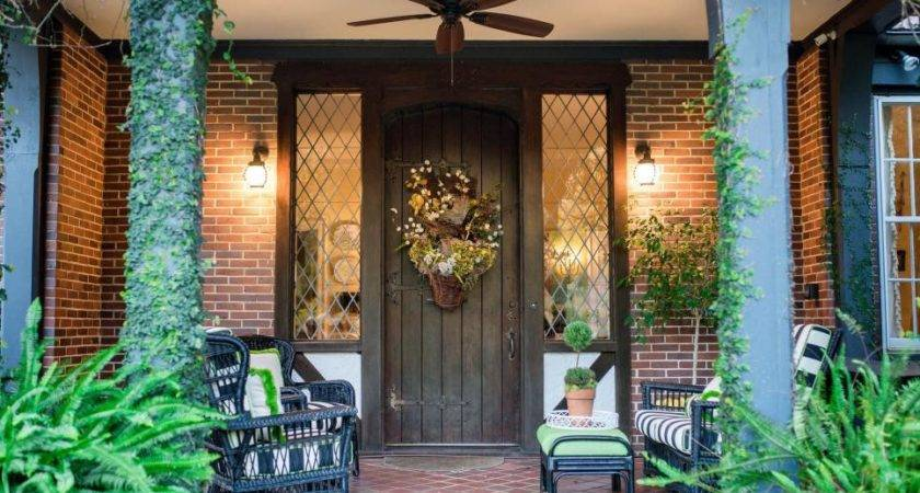 Rustic Farm Garden Style Front Door Decor Hgtv