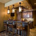Rustic Home Bar Design Ideas Remodels Photos Gray