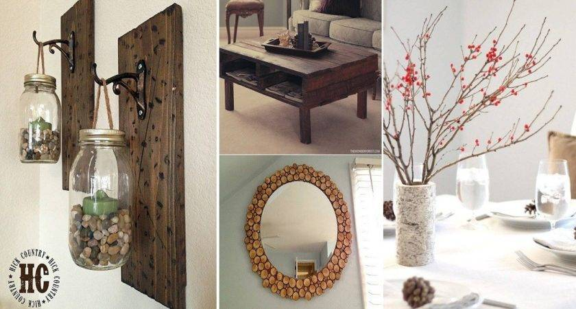 Rustic Home Decor Diy Marceladick