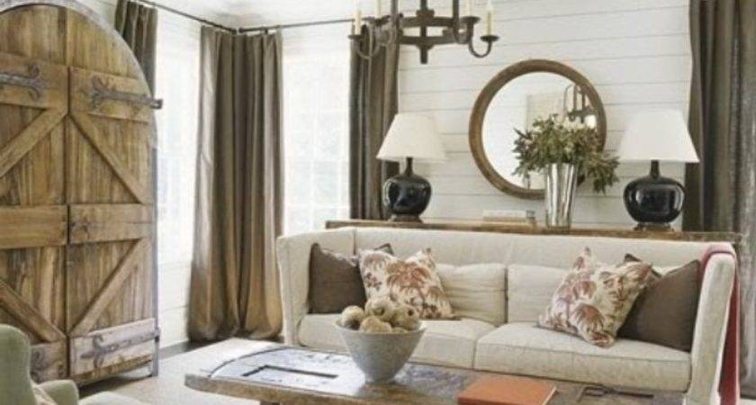 Rustic Living Room Furniture English Cottage Design