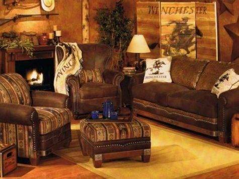 Rustic Living Room Furniture Home Garden