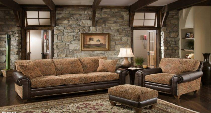 Rustic Living Room Furniture Set French Country