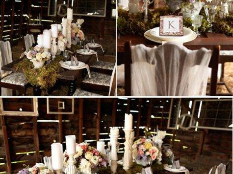 Rustic Meets Vintage Celebrations Home