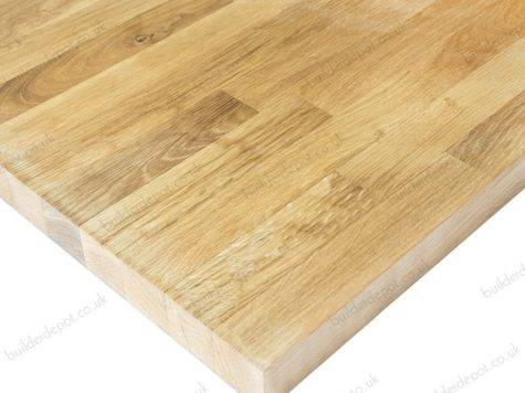 Rustic Oak Unfinished Solid Wood