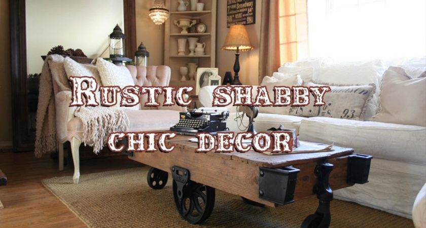 Rustic Shabby Chic Cor Perfect Marriage Two