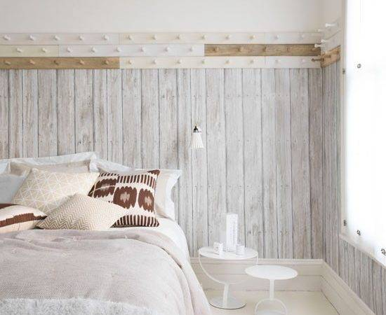 Rustic White Bedroom Housetohome