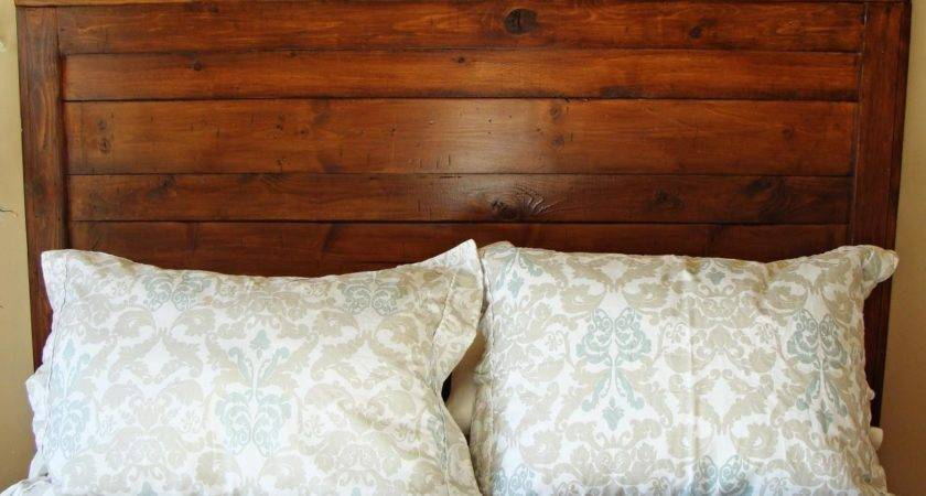 Rustic Yet Chic Wood Headboard Hgtv