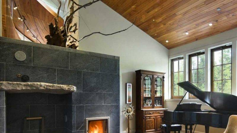 Rustic Yet Contemporary Lakewood House Centerbrook