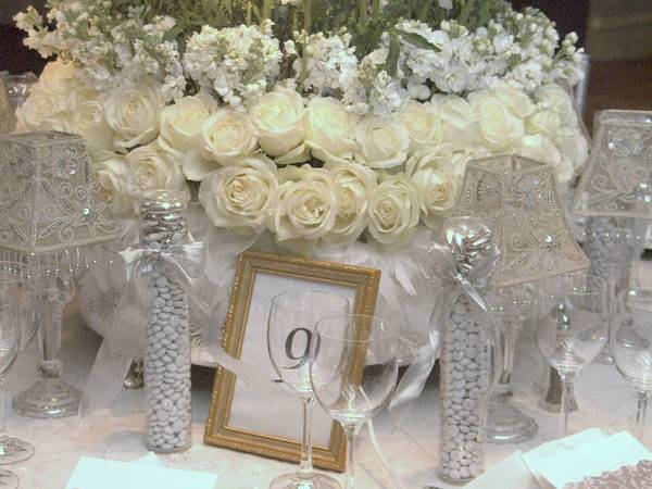Sabi Blog Urban Parisian Silver Wedding Table