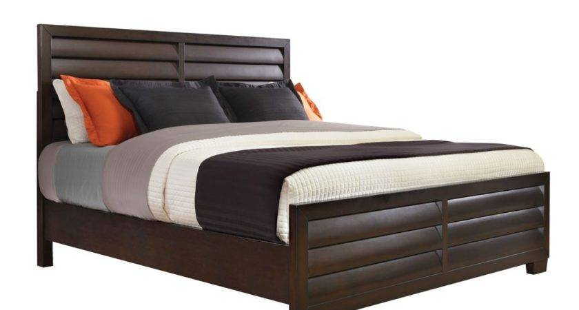 Sable Wood Panel Bed Dark Brown Humble Abode