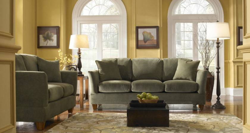 Sage Green Sofa Living Room Apartment Couches