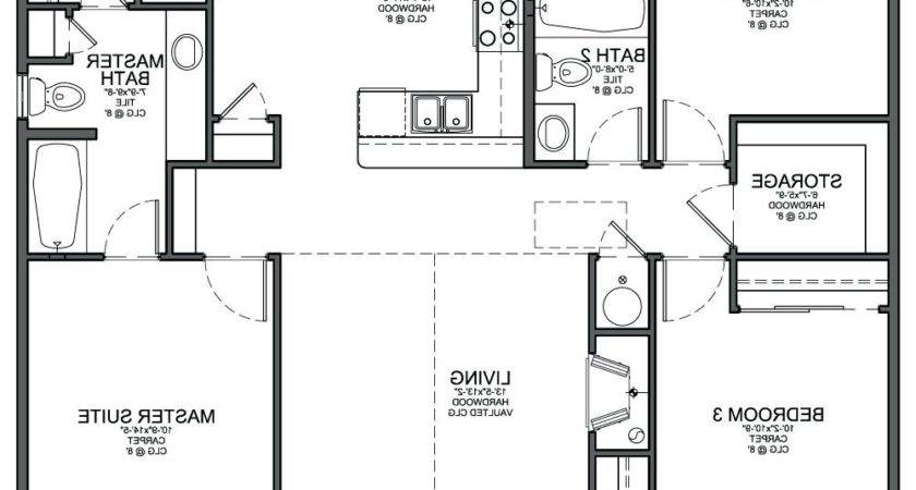 Sample Floor Layoutexample Plan Small House Examples