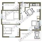 Sample Home Floor Plan Modern House Plans Designs