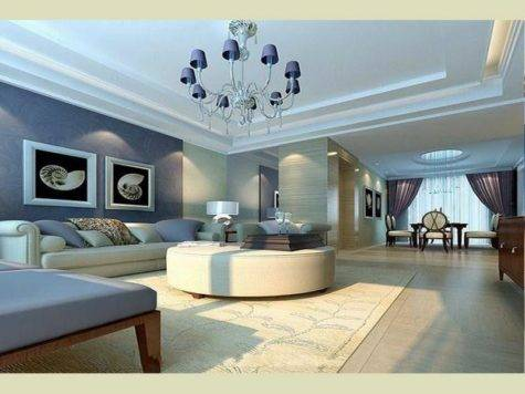Sample Living Room Colors Modern House