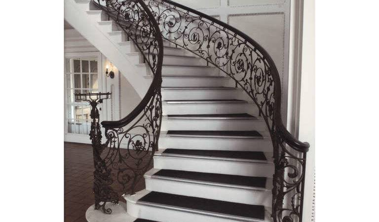 Samuel Yellin Grand Staircase Railing Sale Stdibs