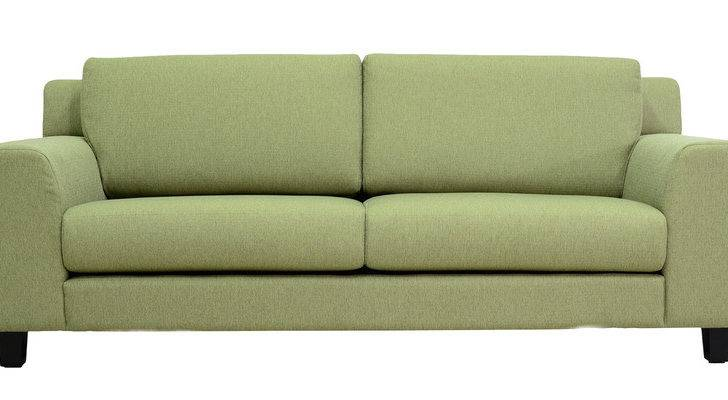 Santa Lucia Three Seater Sofa Pistachio Green Colour