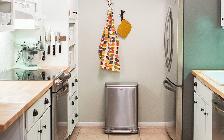 Sarah Hearts Diy Small Galley Kitchen Remodel