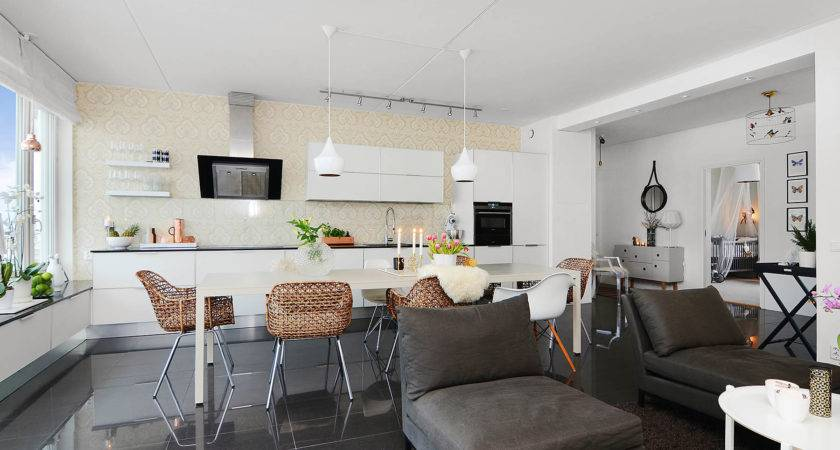 Scandinavian Design Bright Two Bedroom Apartment Stockholm