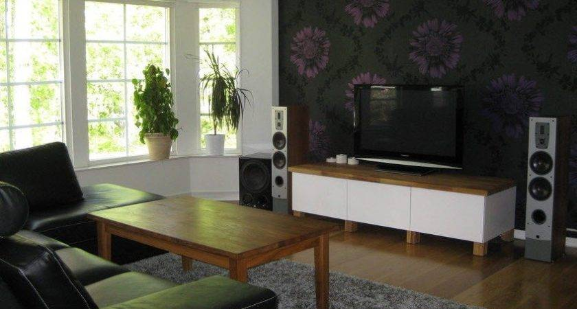 Scandinavian Living Room Entertainment Setups