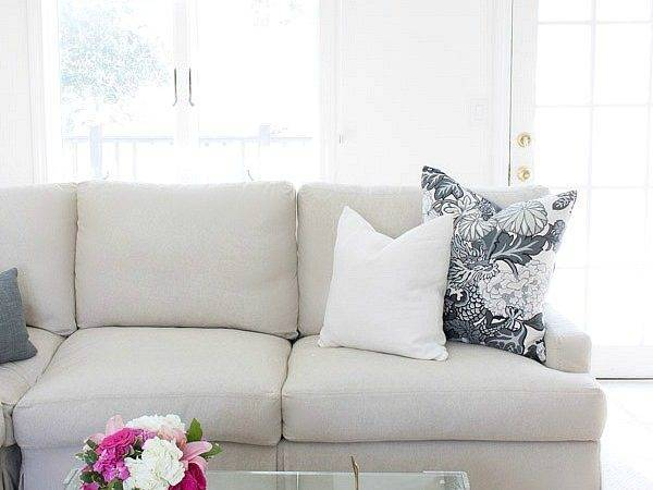 Sectional Sofa Pillows Couch Throw Large