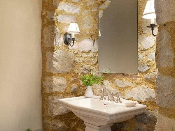 Sensational Bathrooms Natural Stone Walls