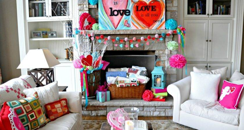 Serendipity Refined Blog Valentines Day Mantel Easy