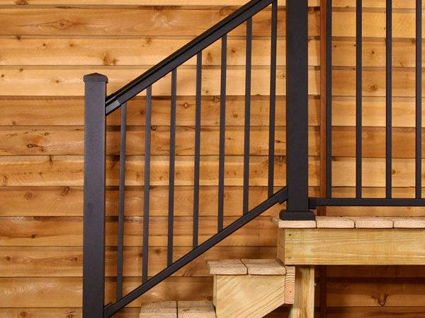 Series Fixed Stair Railing Afco Decksdirect