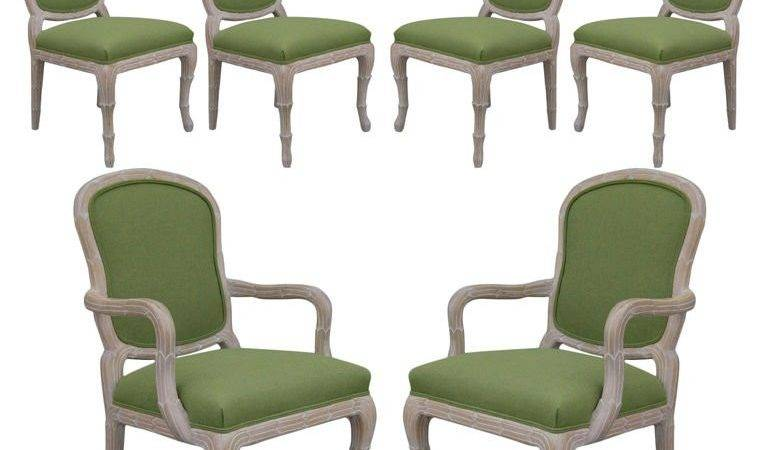 Set Dining Captain Chairs Louis