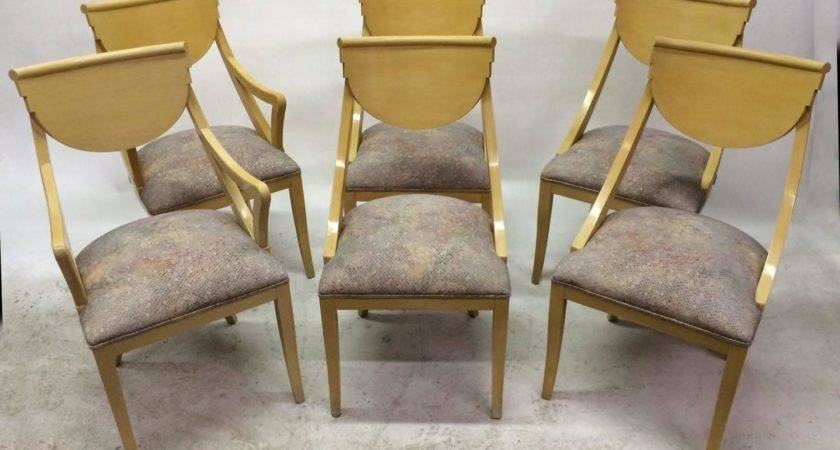 Set Two Captain Four Gondola Dining Chairs Sale