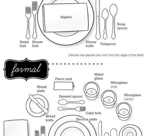 Set Your Formal Informal Table Today