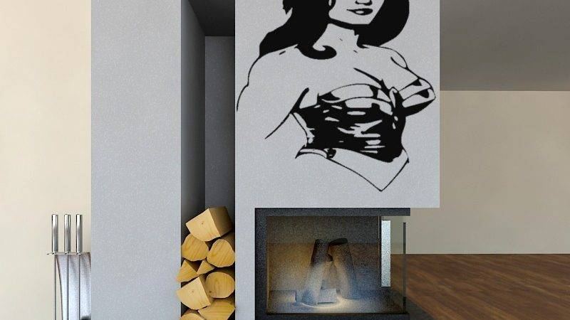 Sexy Wall Decals Hot Girls