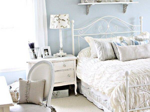 Shabby Chic Bedroom Decor Bukit