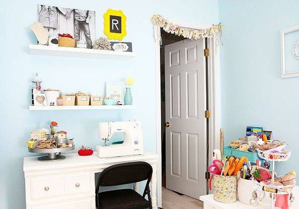 Shabby Chic Craft Room Tour Rooms Home Decor