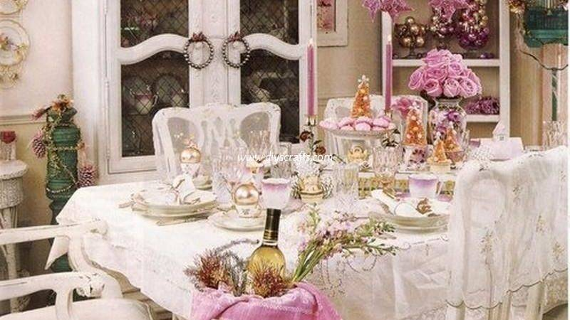 Shabby Chic Dining Room Ideas Diy Crafts