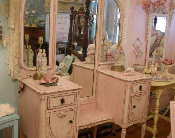 Shabby Chic Furniture Flat Decoration