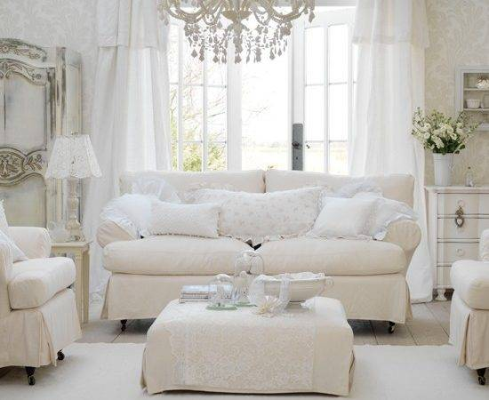 Shabby Chic Living Room Design Ideas Interior