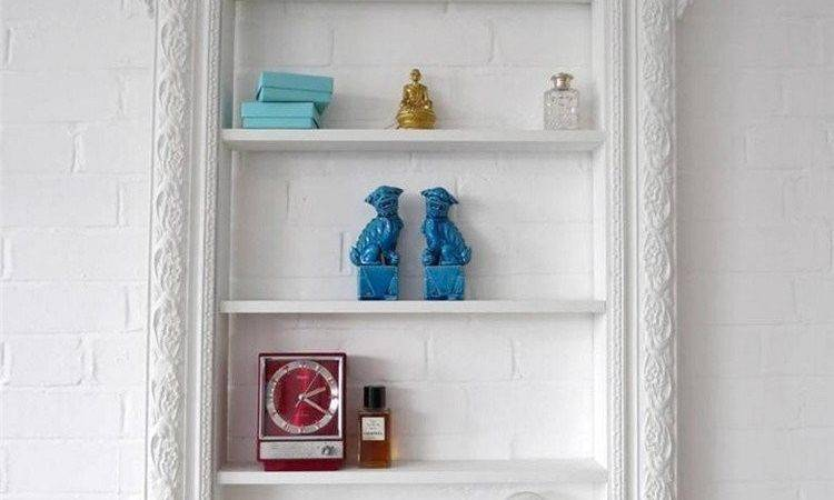 Shabby Chic Style Ideas Wall Shelves Art Crafts