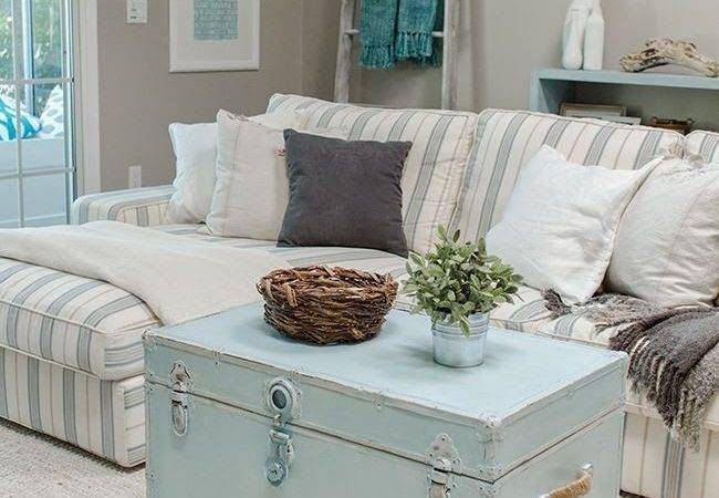 Shabby Chic Style Living Room Design Ideas Decoration