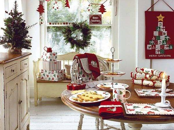Shabby Love Christmas Table