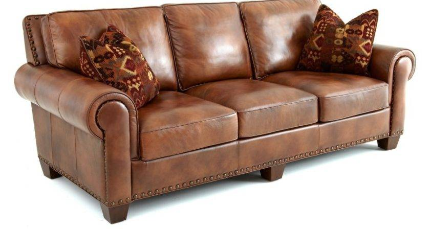 Shape Dark Brown Leather Couches Three Back Plus